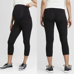 Maternity Crossover Panel Active Capri Pants